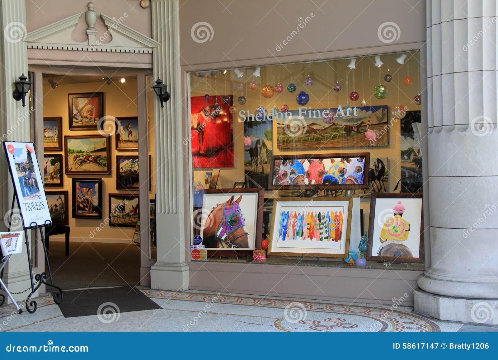 Sheldon fine art studio broadway saratoga springs new for A beautiful you at vesuvio salon studios