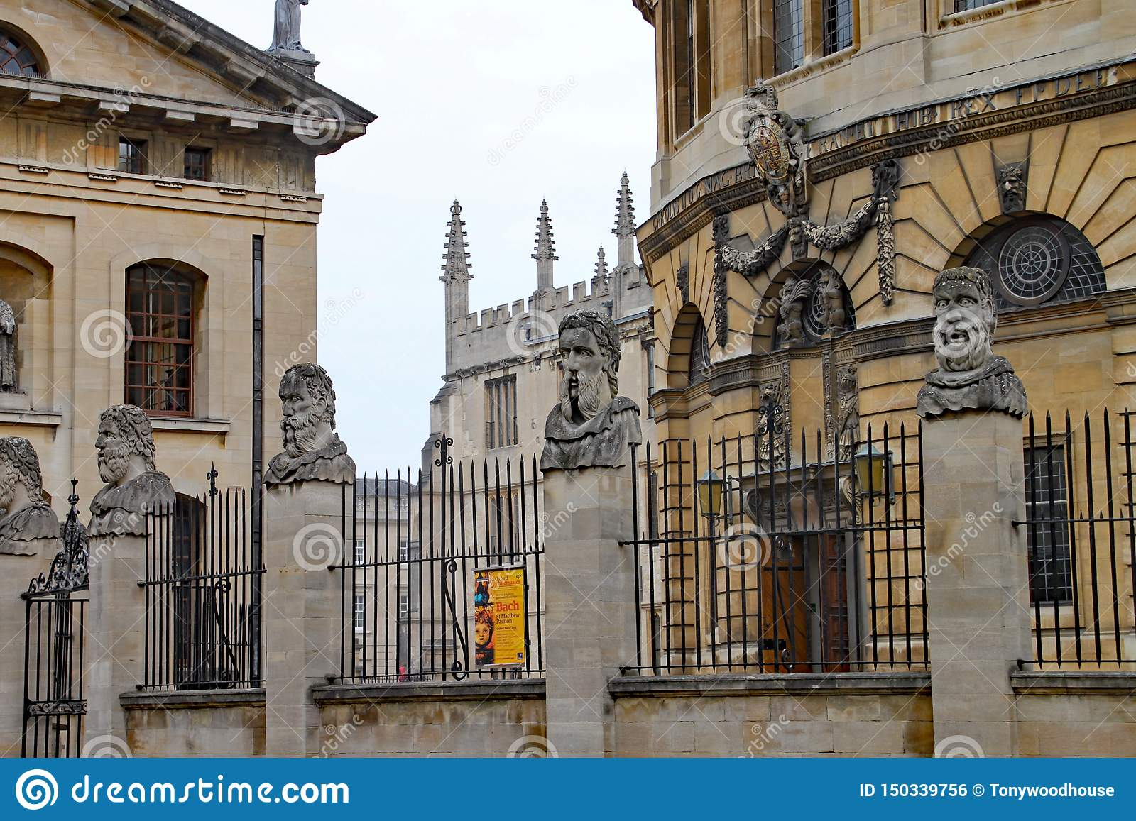 The Sheldonian Theatre with the Bodleian Library in the background