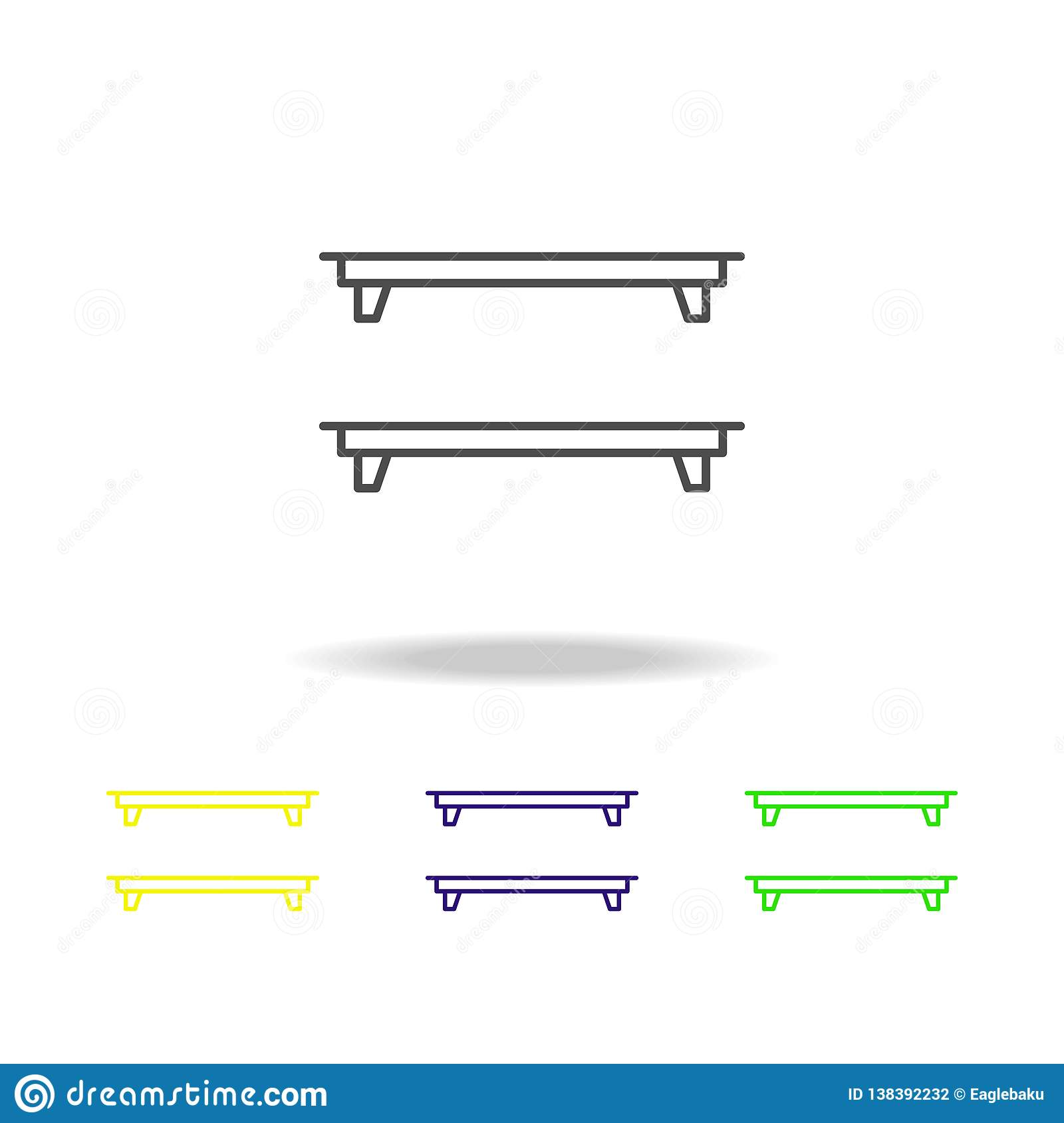 shelf, shelves, interior icon. Can be used for web, logo, mobile app, UI, UX