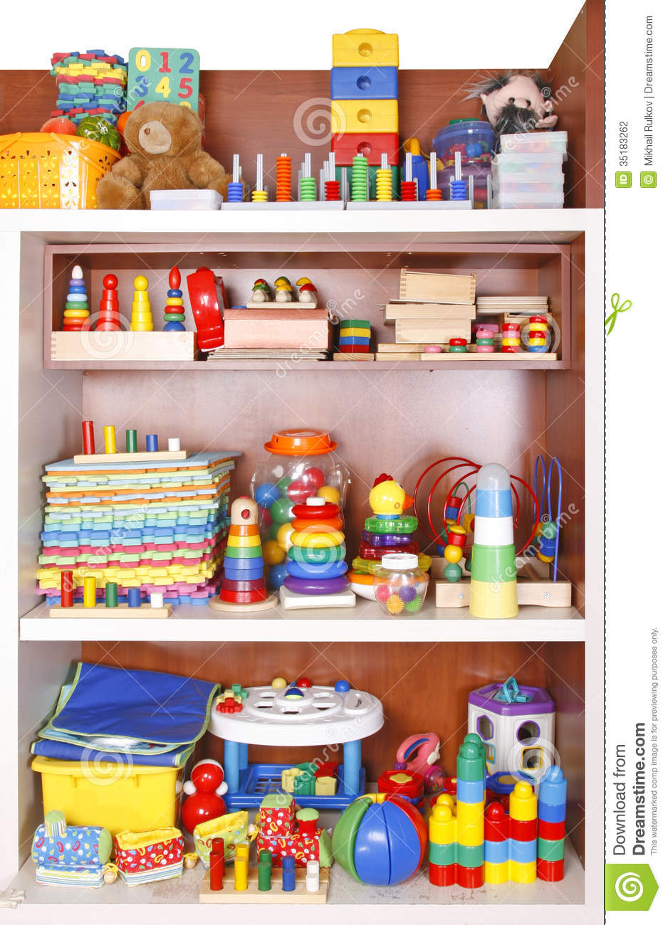 Toys On A Shelf 61