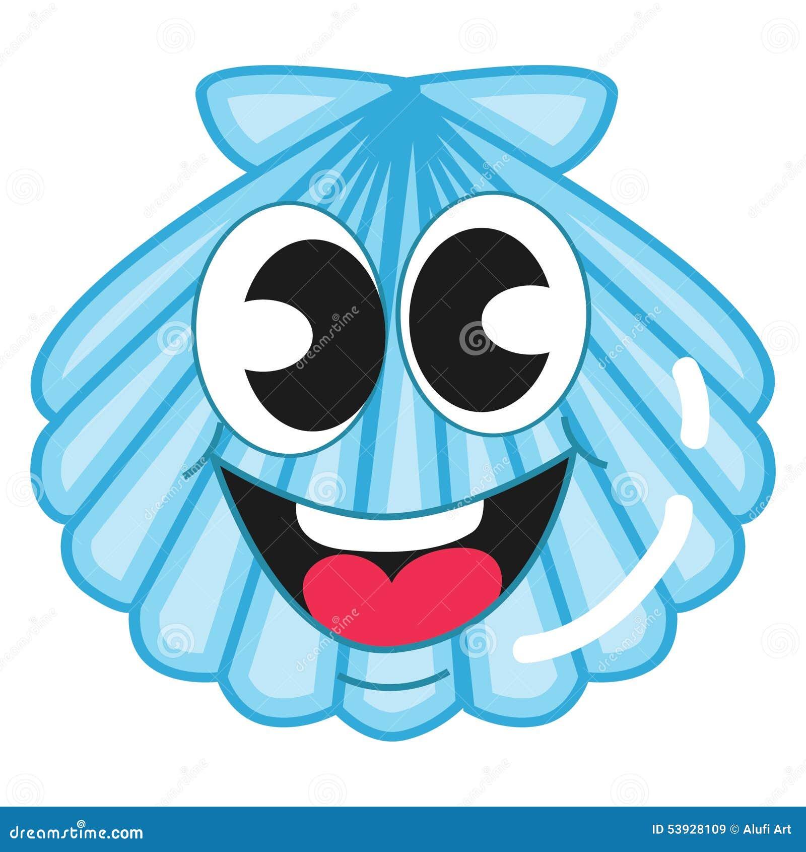 Shell bleu mignon