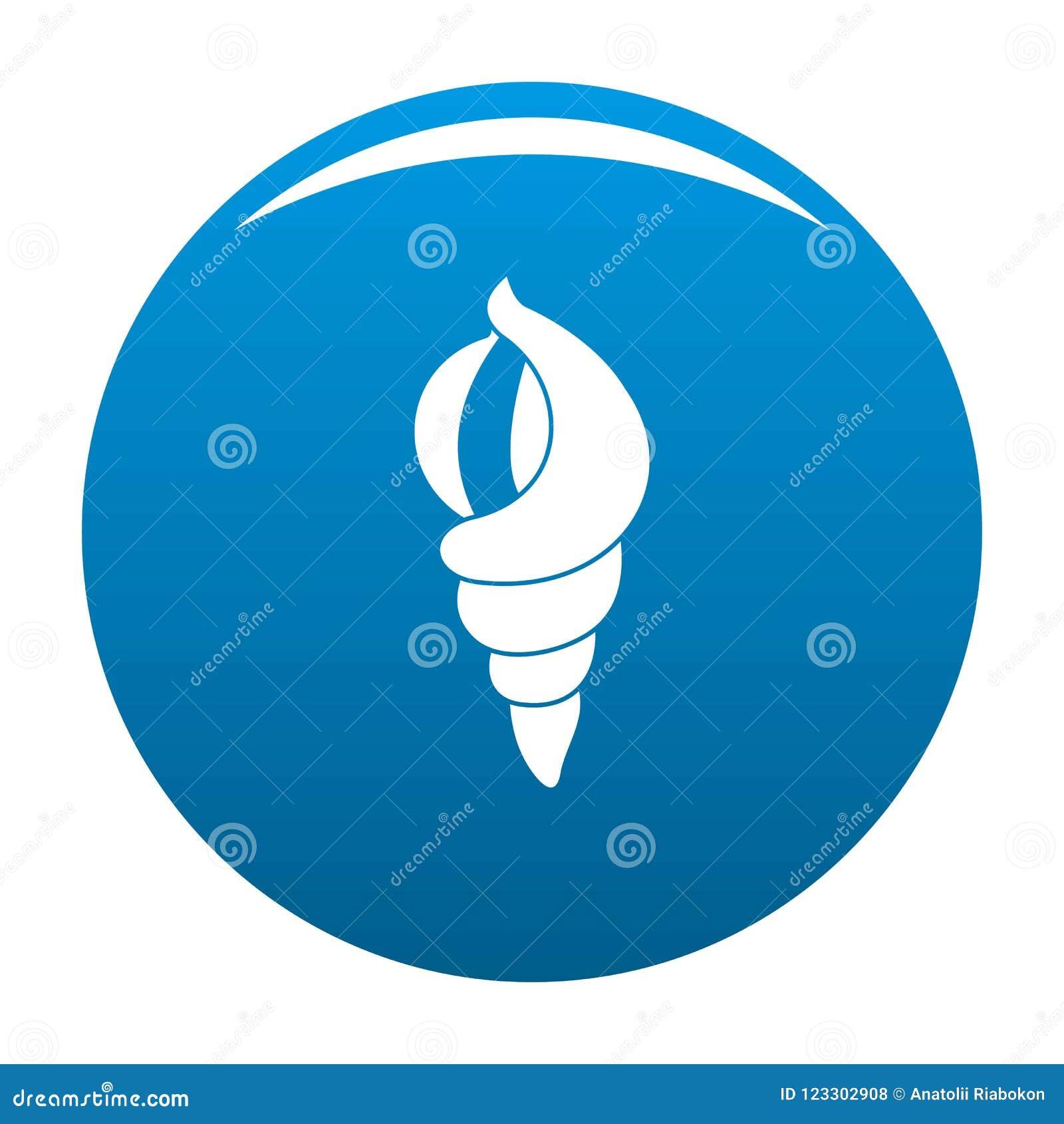 Shell en tant que bleu d icône de maison