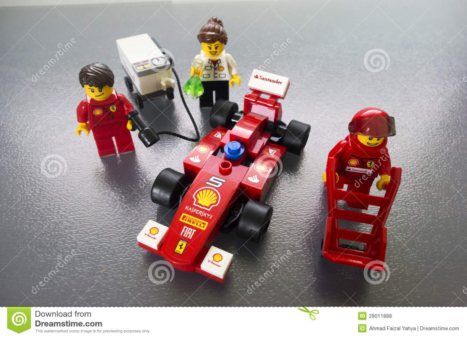 Shell Ferrari Lego Toys Editorial Stock Photo Image