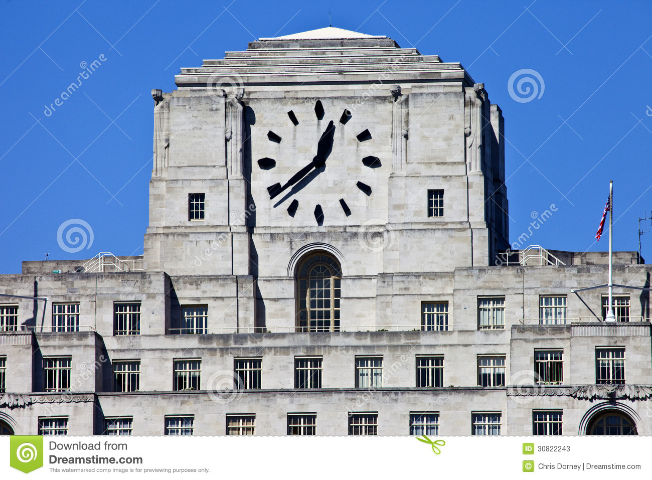 shell mex house in london stock image image of historical 30822243