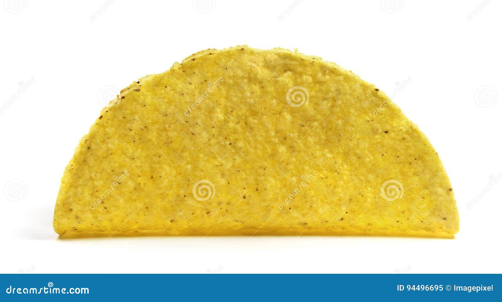 Shell vazio isolado do taco