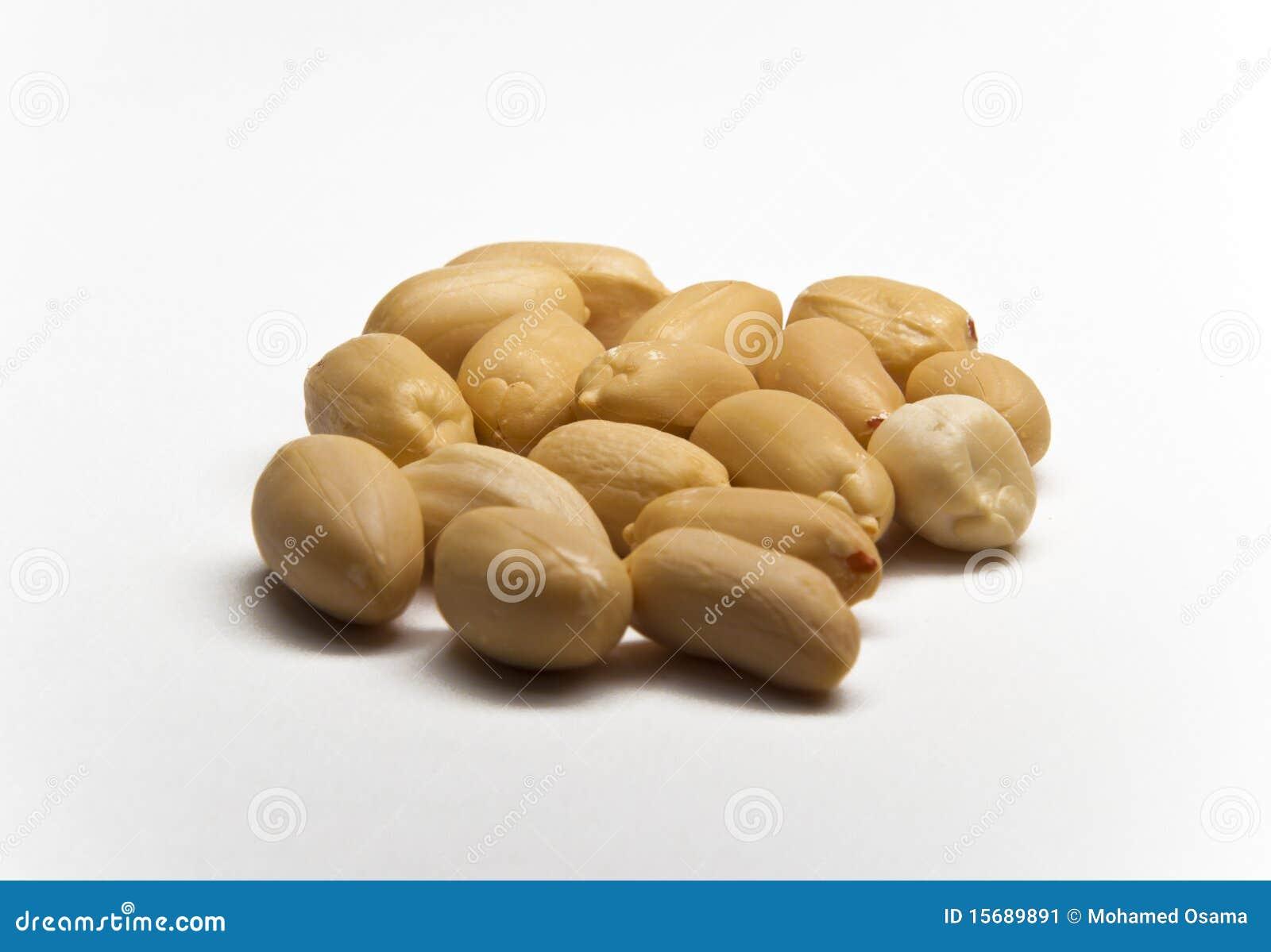 Shelles aislados del cacahuete