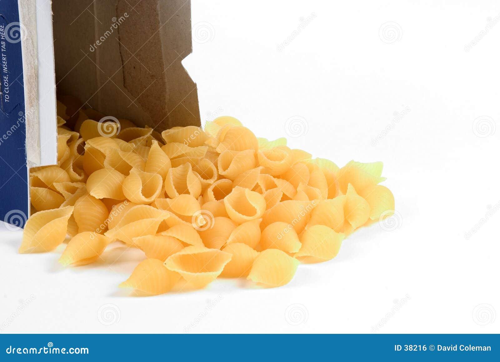 Shelles de las pastas