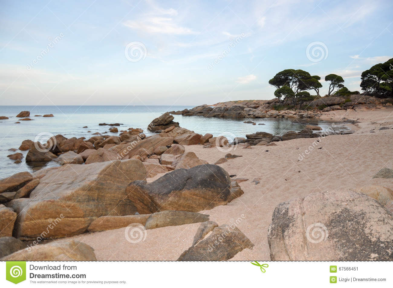Download Shelley Cove In Bunker Bay, Western Australia Stock Image - Image of formations, ocean: 67566451