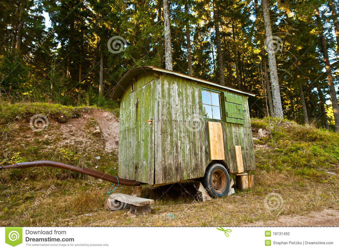 shelter trailer stock photography image 18131492 Clip Art Storm Trees Clip Art Storm Trees