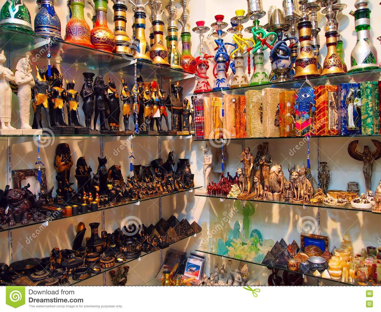shelves with egyptian souvenirs stock photography image egypt clipart png egypt clip art for kids