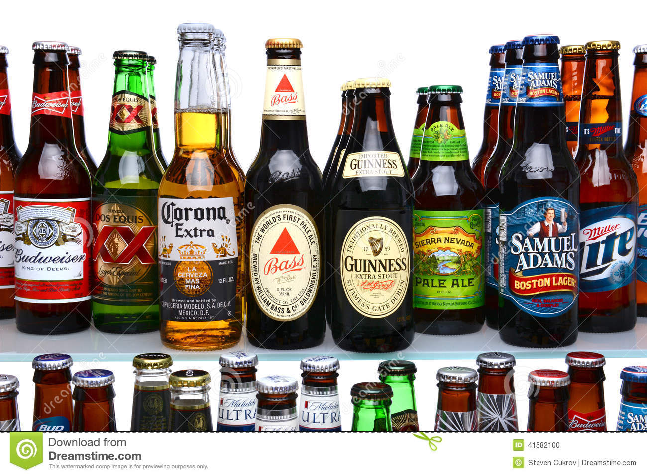 of beer brands on shelves  Z Beer Brands