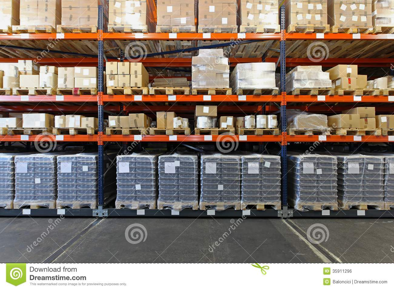 Shelves and racks royalty free stock image image 35911296 Warehouse racking layout software free