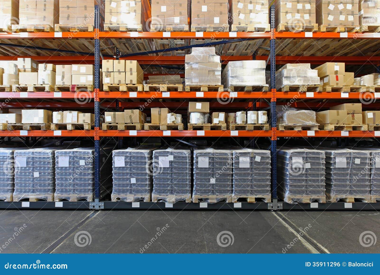 Shelves And Racks Stock Photo Image Of Merchandise