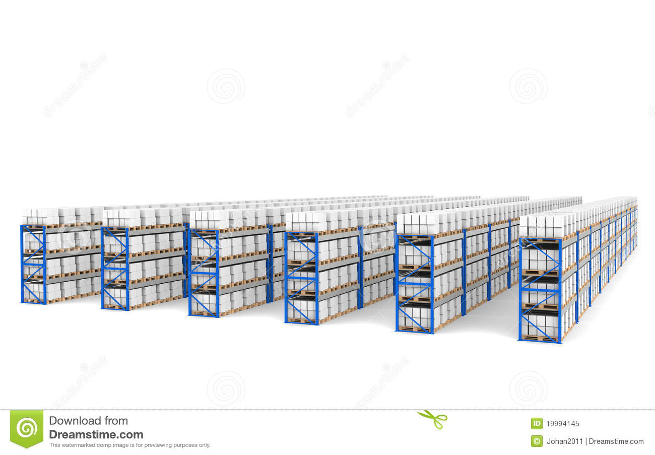 Shelves X 60. Top Perspective View, Shadows. Royalty Free ...