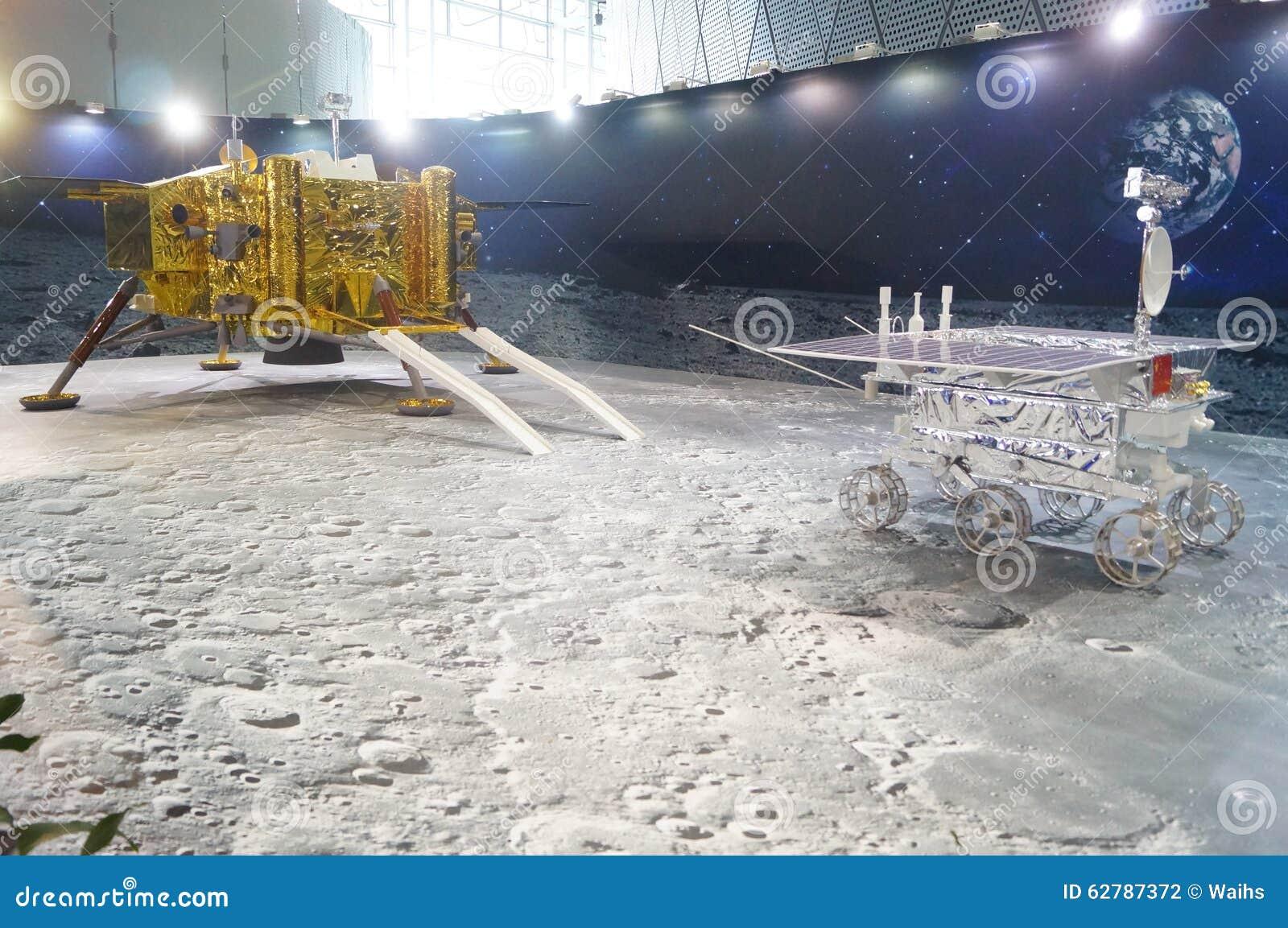 Shenzhen, Κίνα: Κινεζικές σεληνιακές δραστηριότητες εβδομάδας συνειδητοποίησης επιστήμης προγράμματος εξερεύνησης