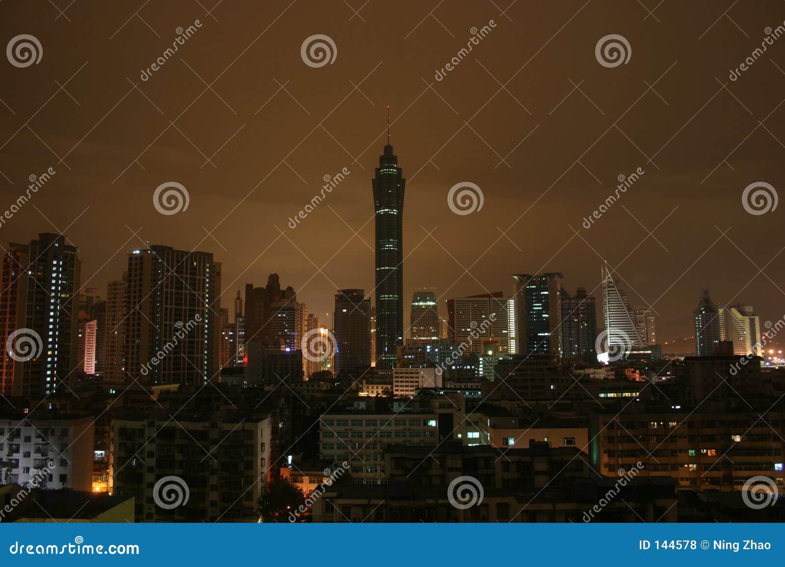 ShenZhen bij Nacht