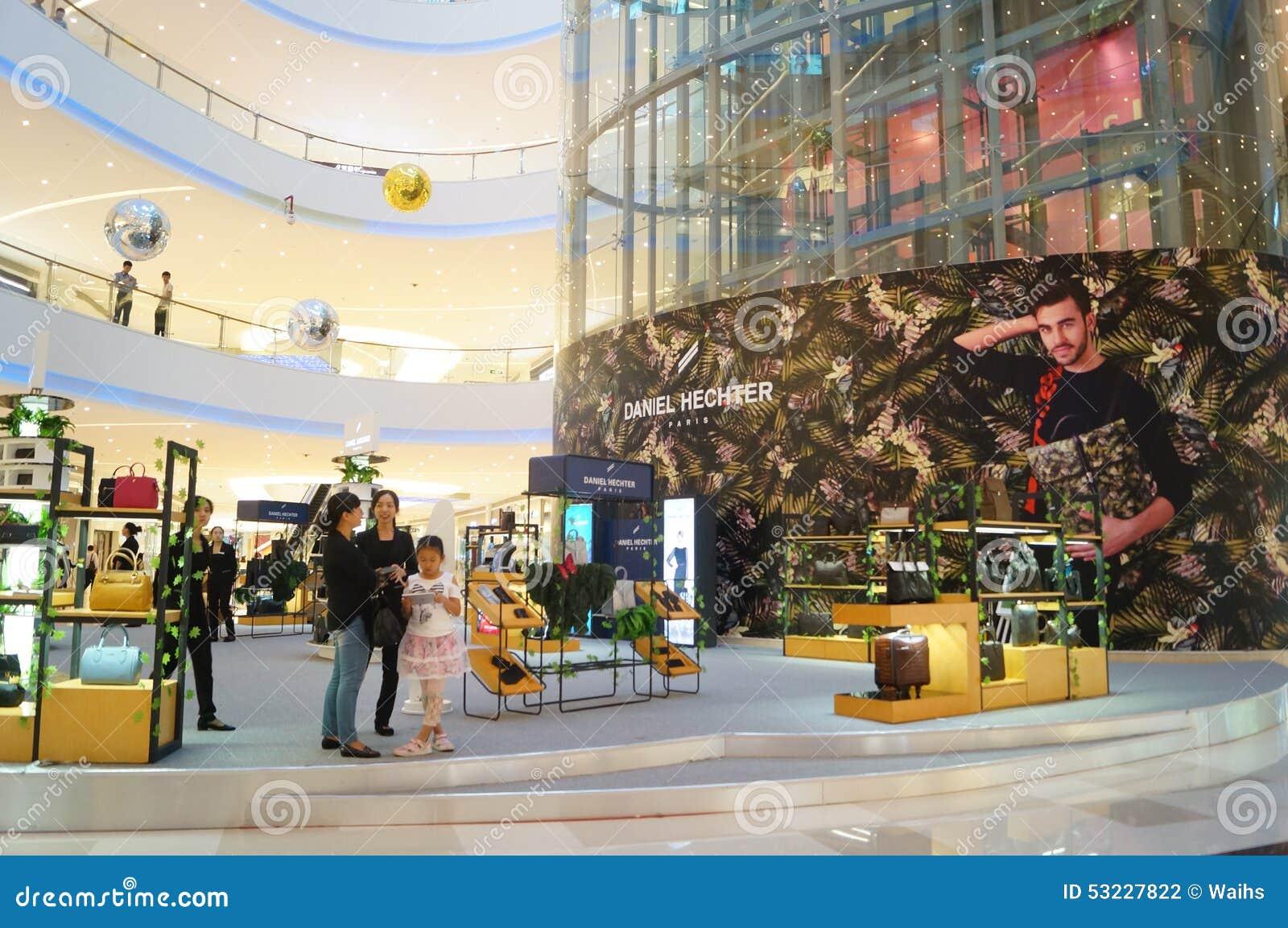 Shenzhen, China: alameda de compras integrada grande