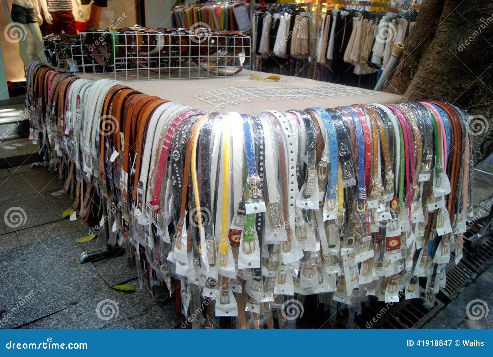Shenzhen, China: correa de la venta