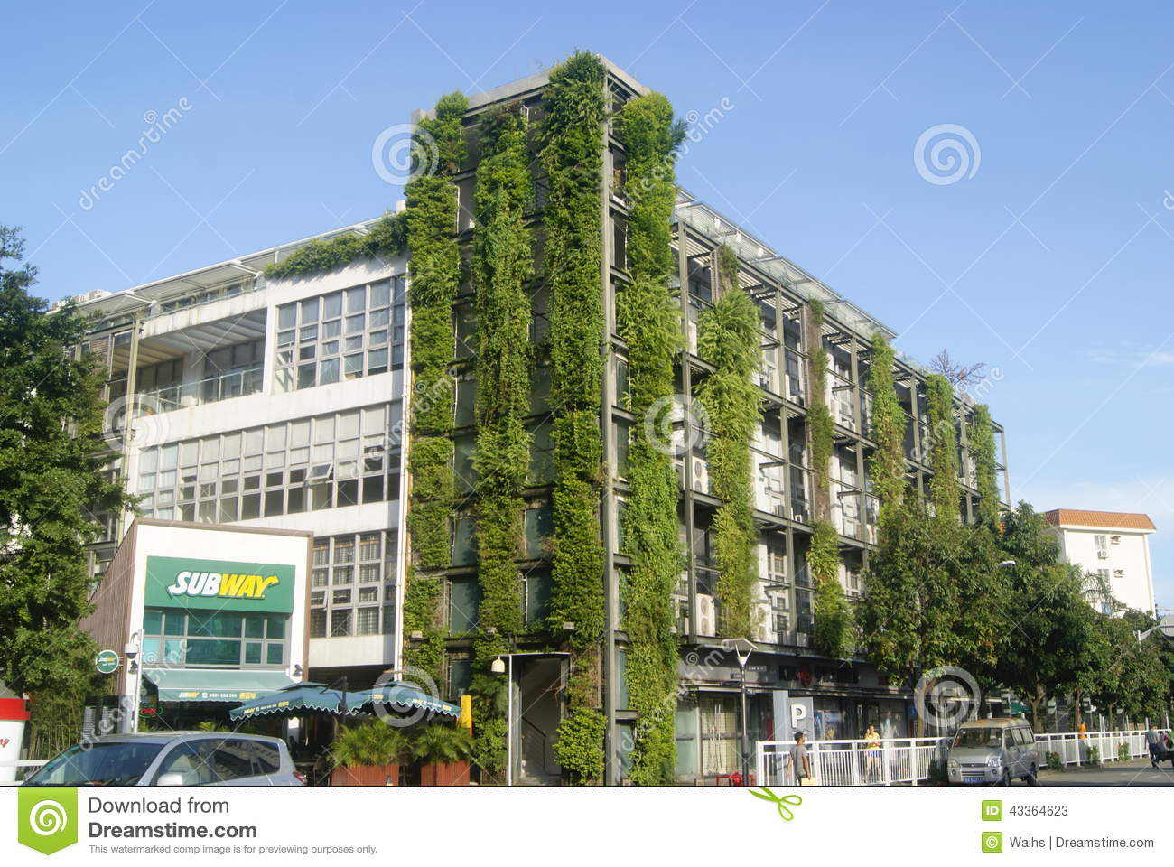 Shenzhen china green buildings editorial stock photo for Builders in my area