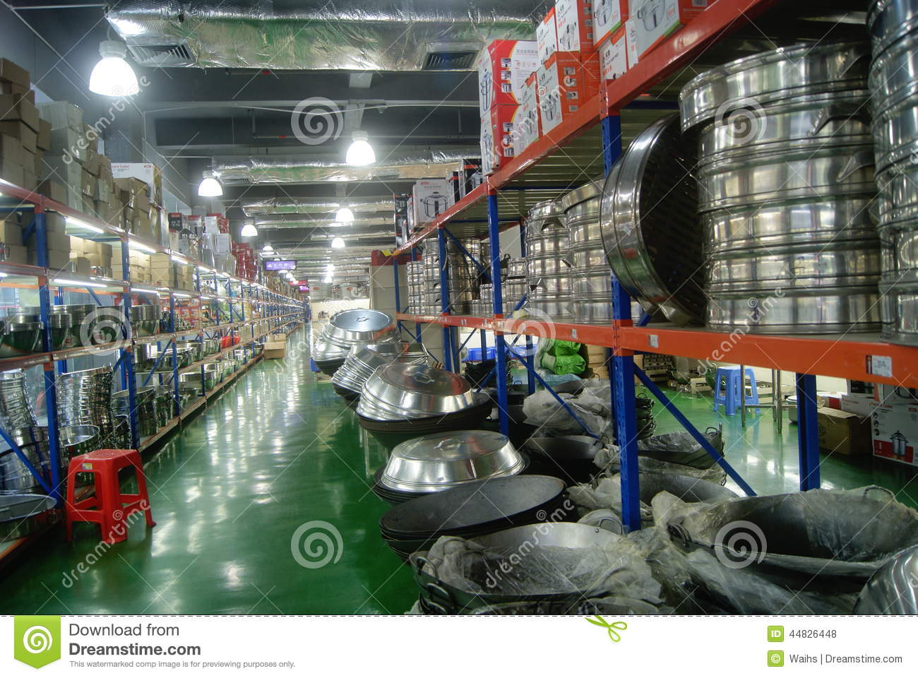 shenzhen china kitchen supplies store editorial stock photo