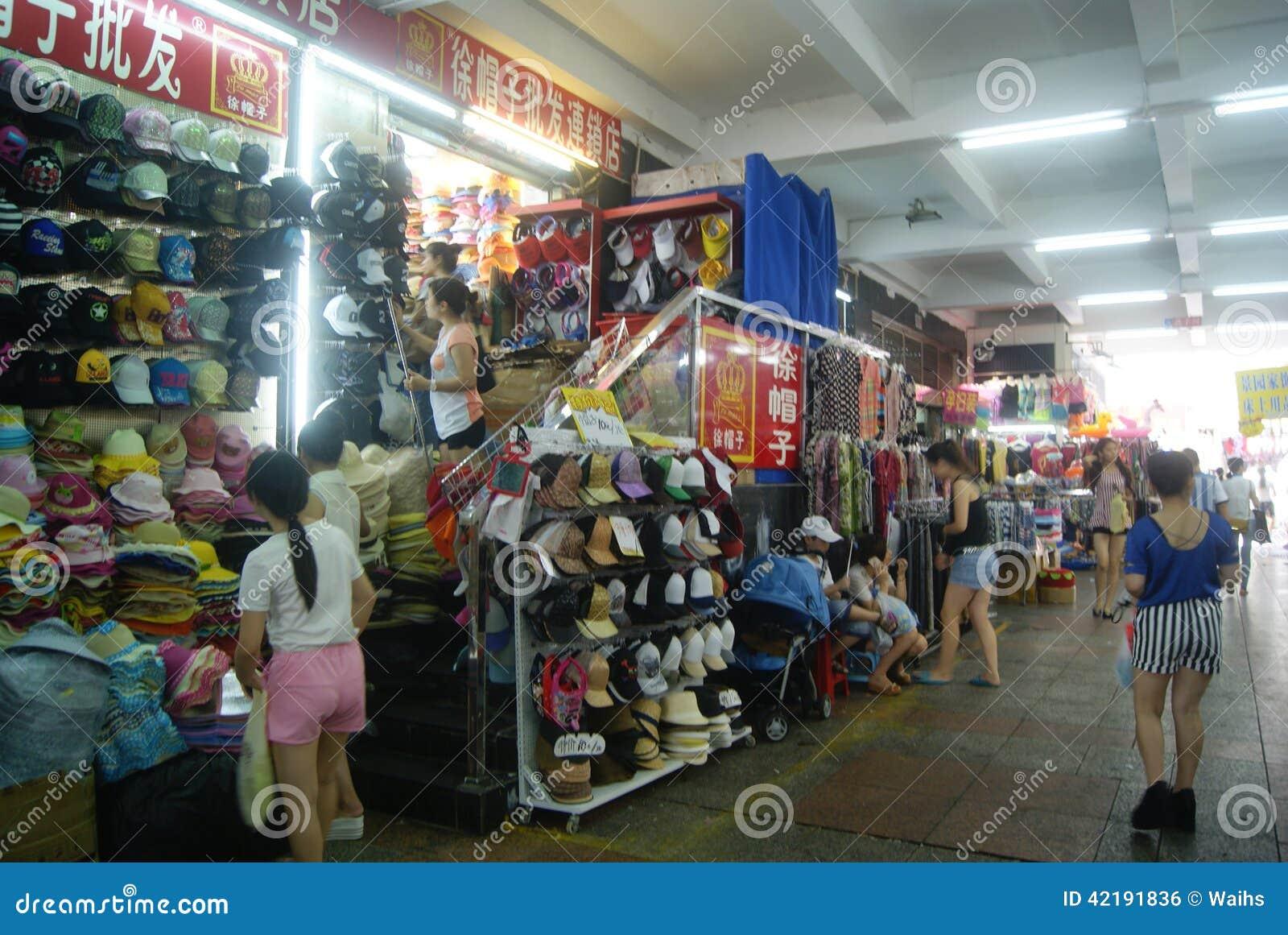 shenzhen china los zapatos y la ropa venden al por mayor