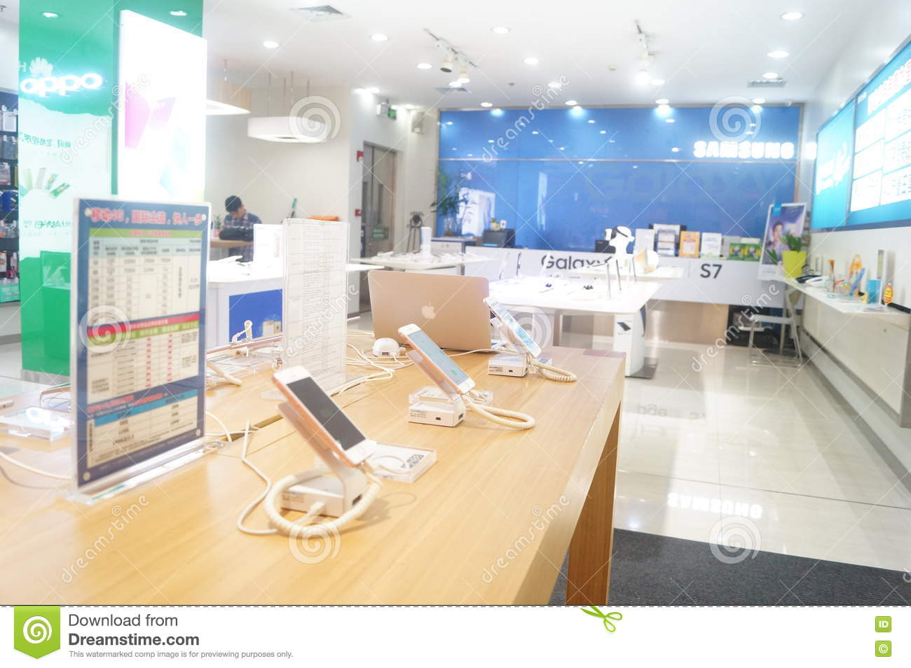 Shenzhen China Mobile Phone Shop Editorial Image Image Of Asia