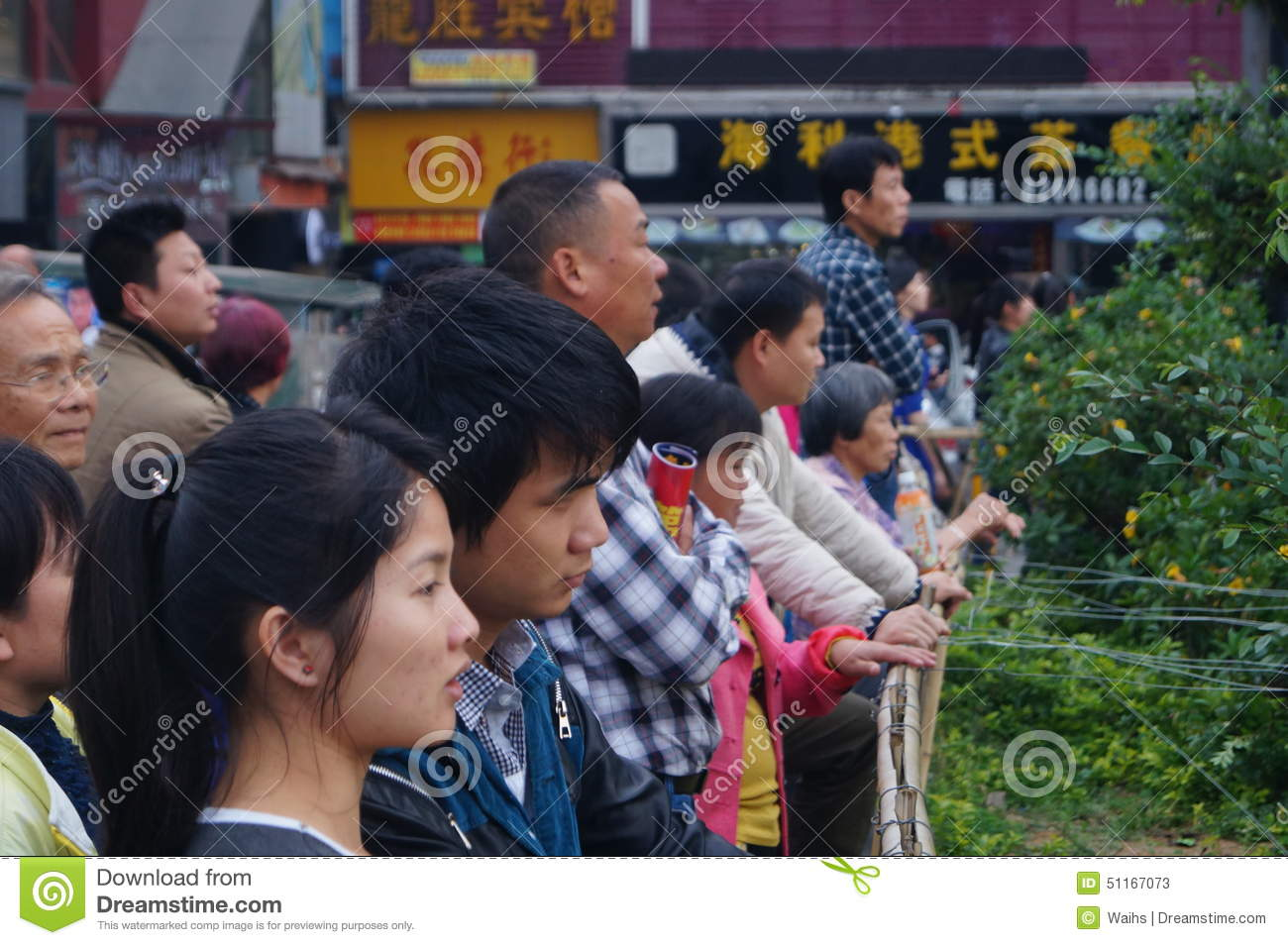 Shenzhen, China: people with disabilities in the singing and begging