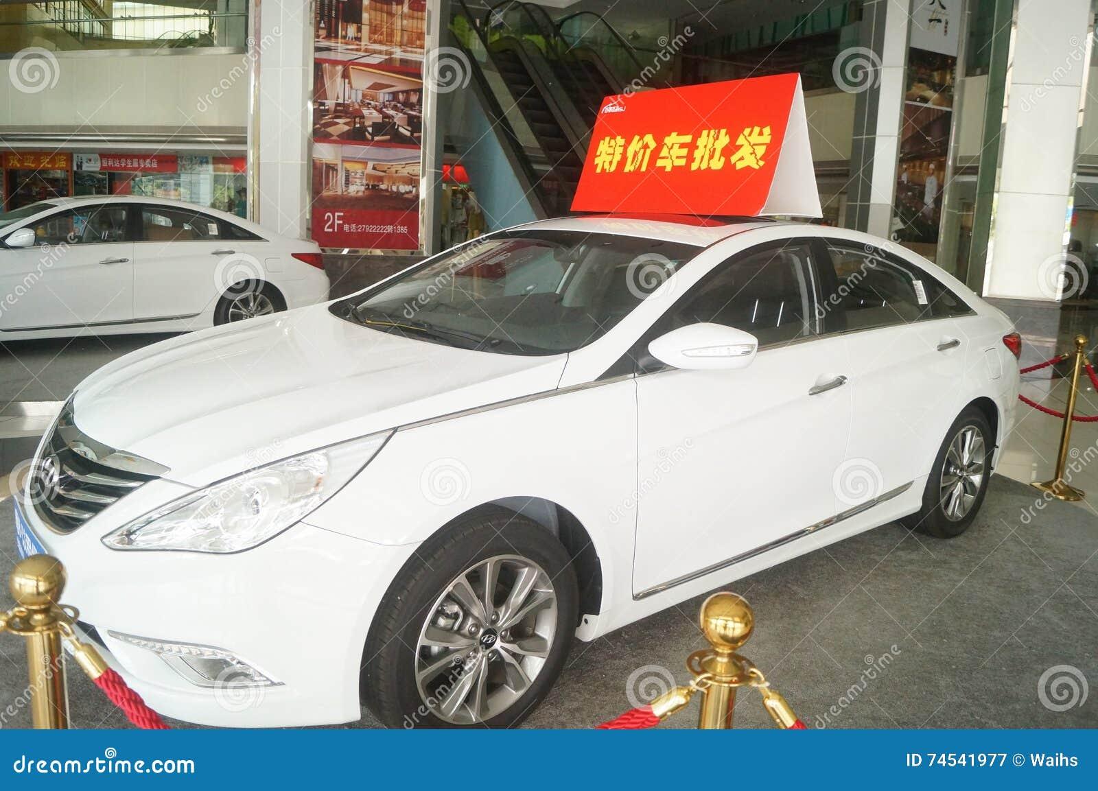 Oferta de autos chinos