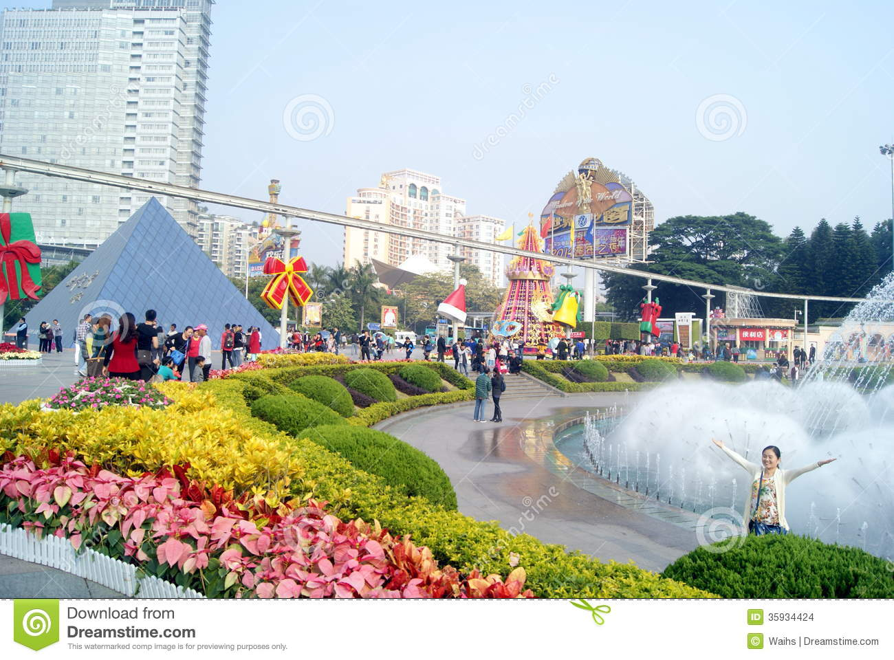 Shenzhen china window on the world tourist attractions for Warm places to visit in december in usa