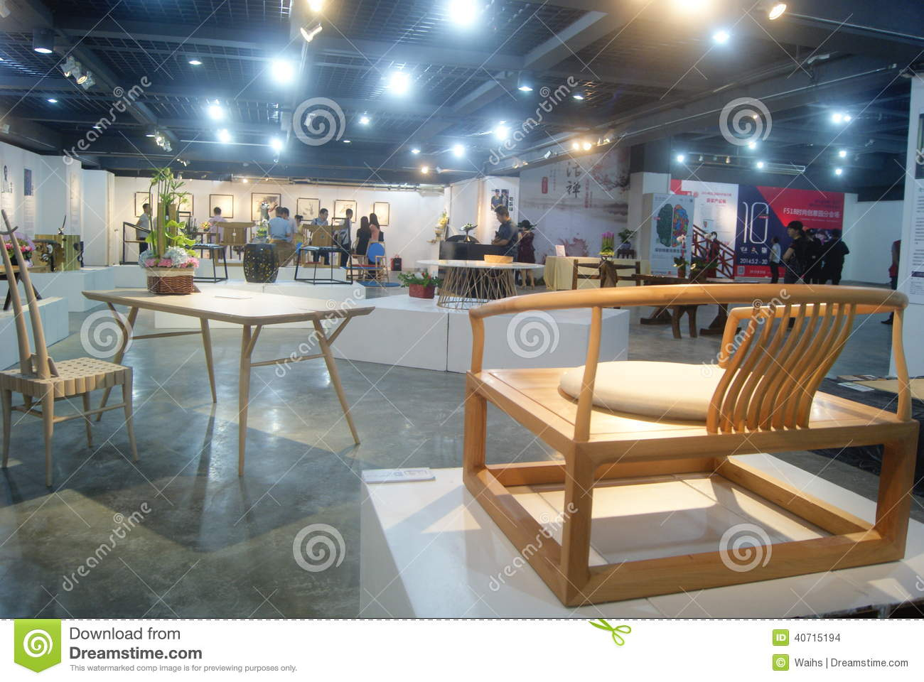 Shenzhen chinese creative furniture exhibition editorial for Furniture expo
