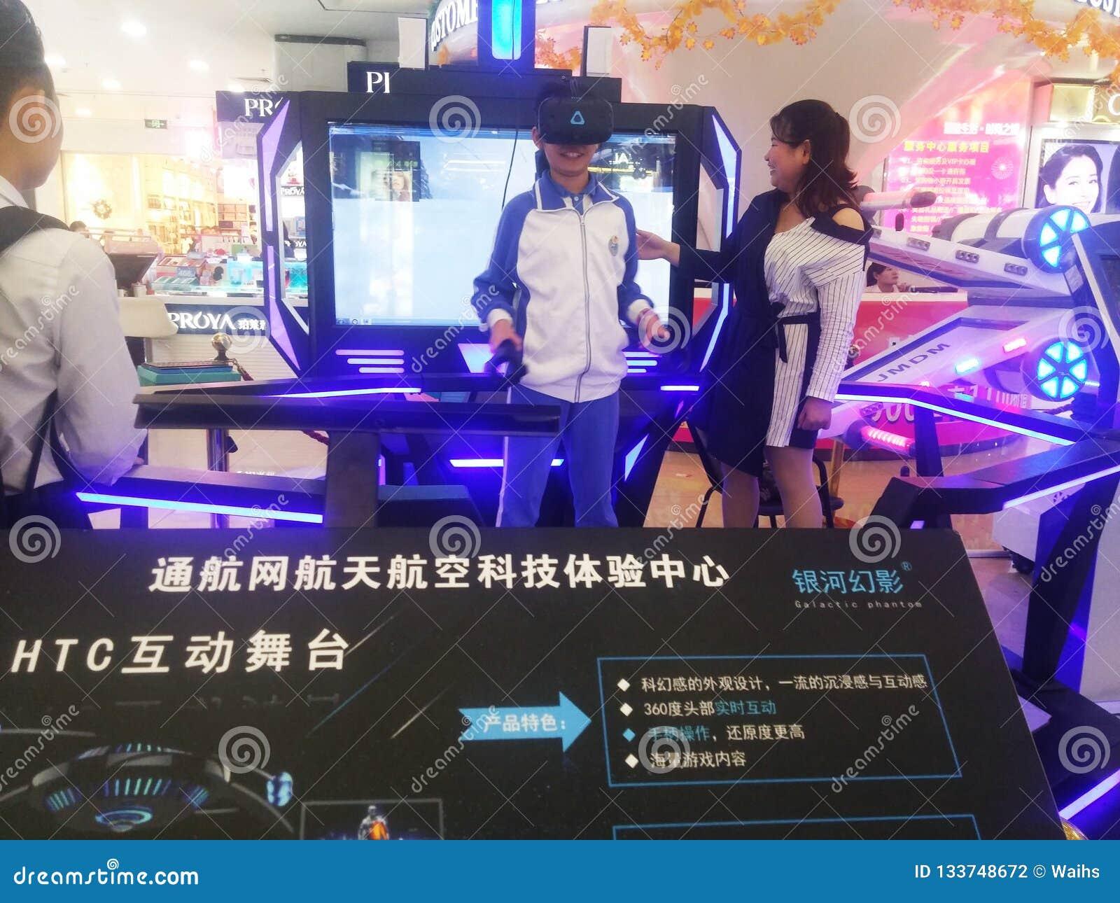 Shenzhen, Chiny: kosmiczne nauka i technika doświadczenia aktywność, modela astronautyczny wyposażenie