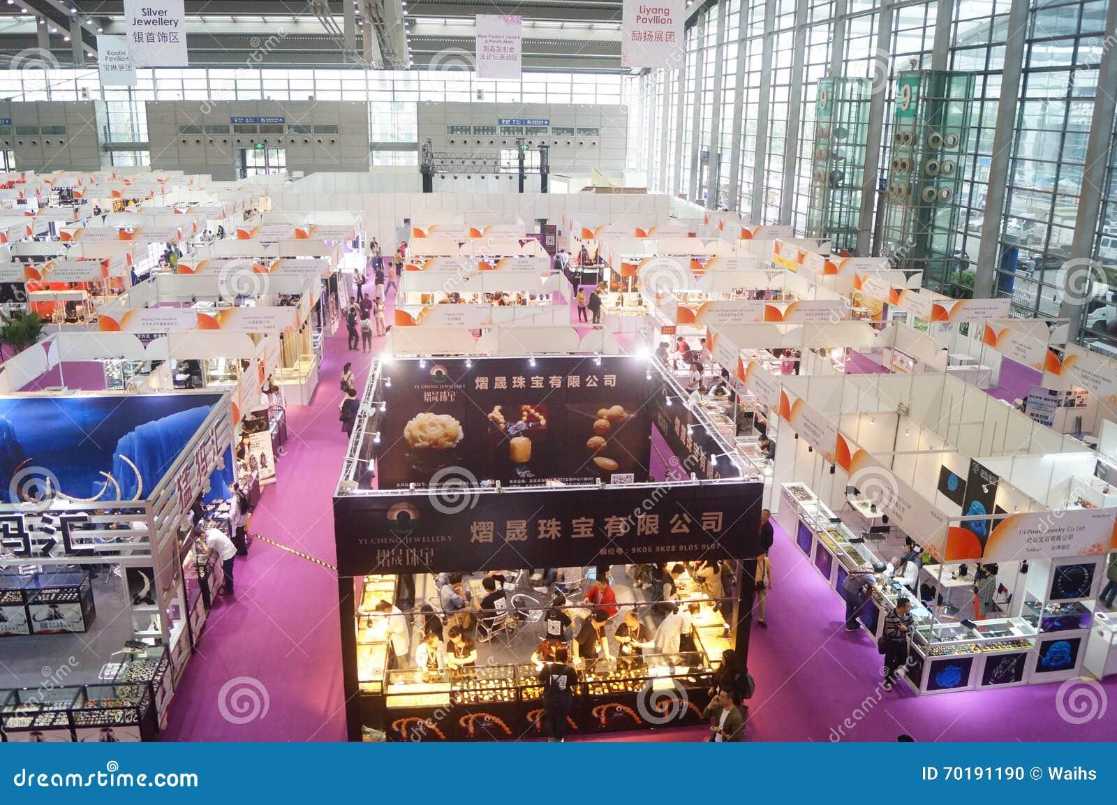 Shenzhen internationell guld- smyckenmässa