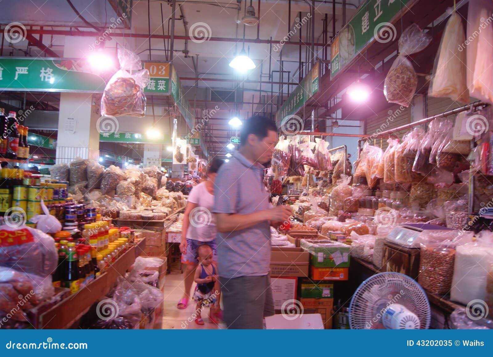 Download Shenzhen Porslin: Bondemarknad Redaktionell Foto - Bild av marknad, turism: 43202035
