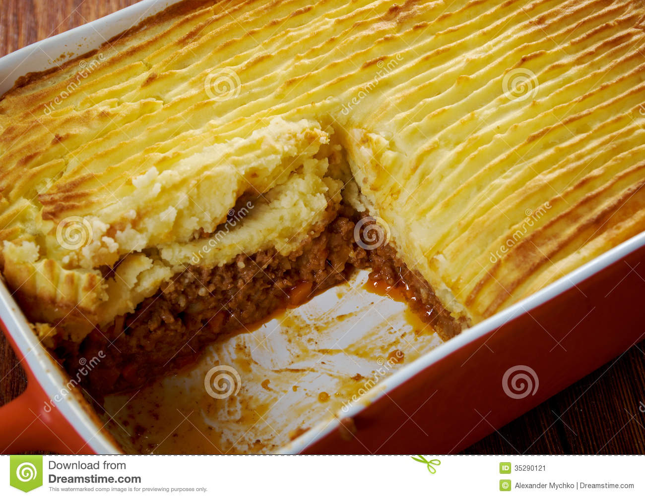 Shepherd S Pie Stock Image Image 35290121