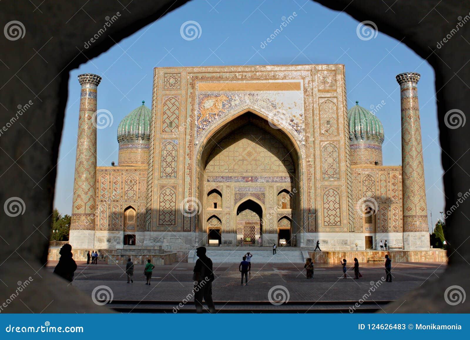 Sher Dor Medressa in Samarkand