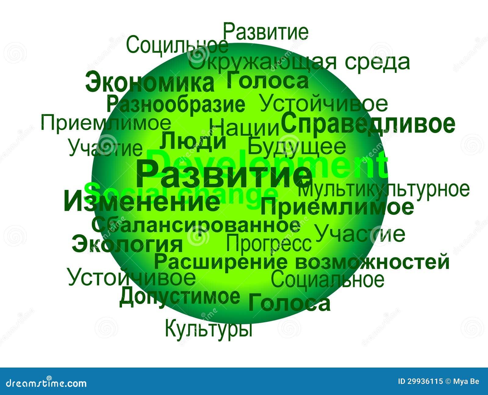 Development Of Russian Language 36
