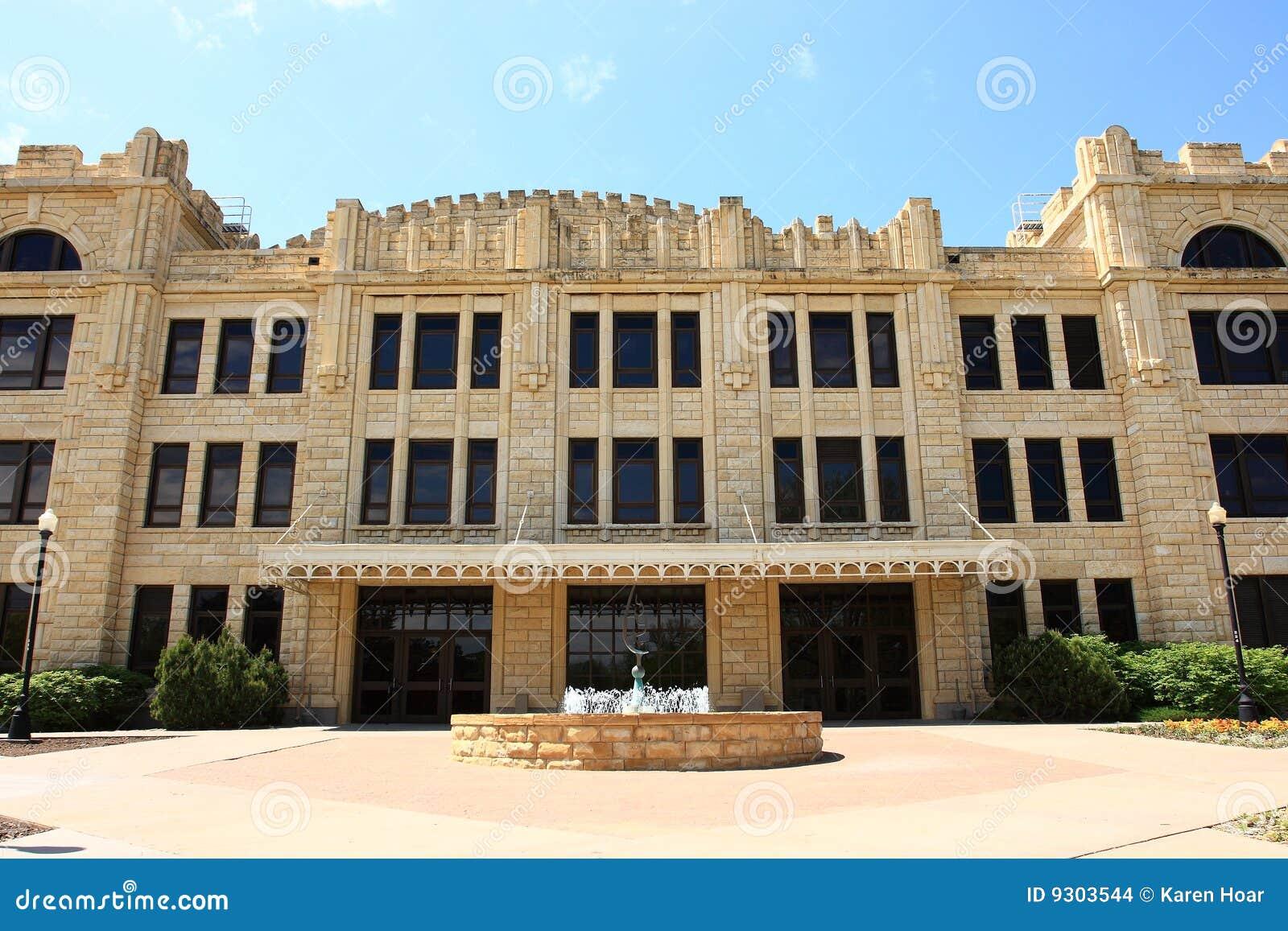 Sheridan Hall Fort heut Landesuniversität