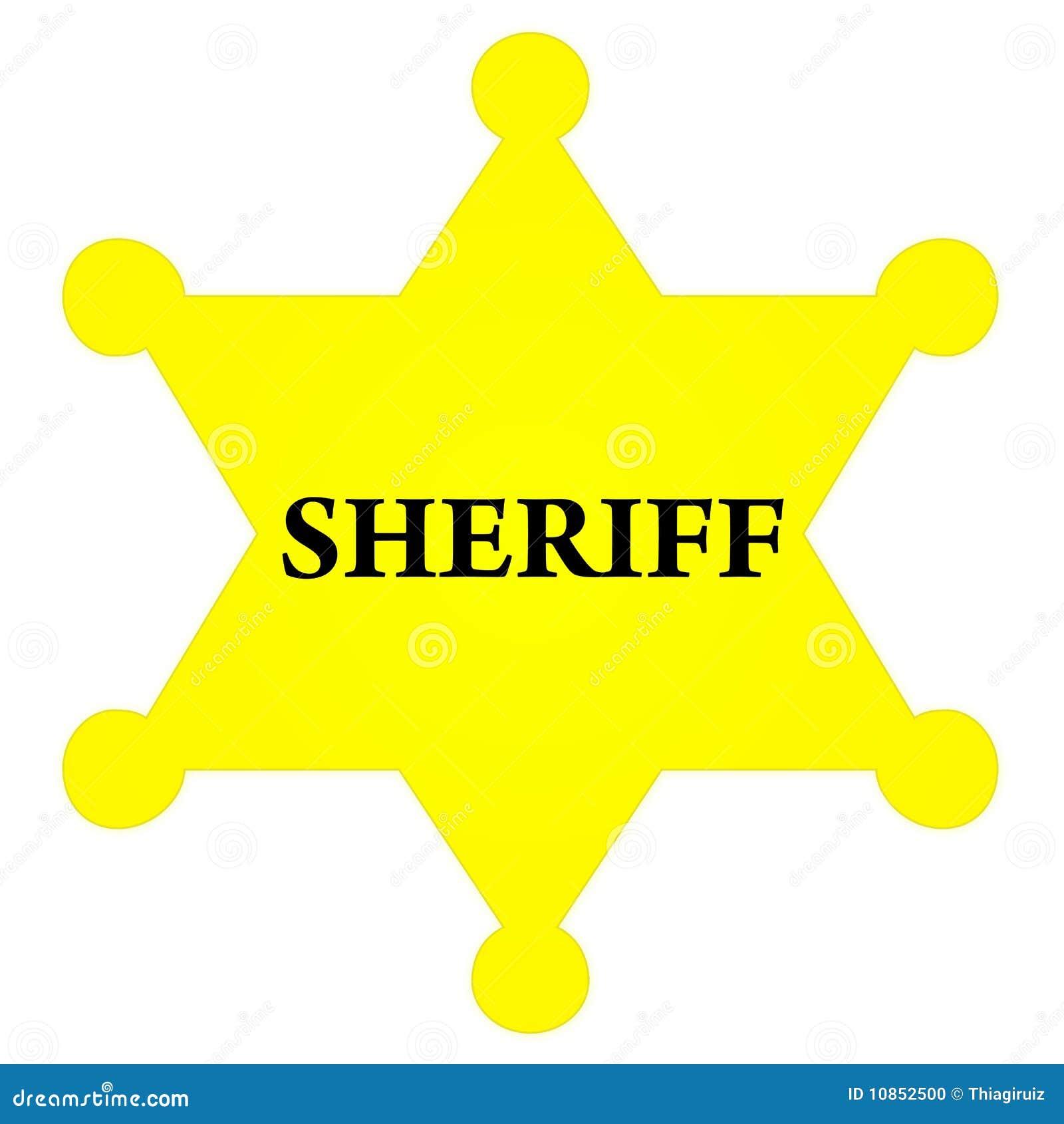 Deputy Badge Template. 100,000+ Star Stickers | Zazzle - MTM