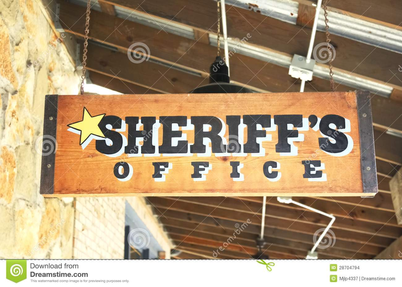 Sheriff's Office Stock Images - Image: 28704794