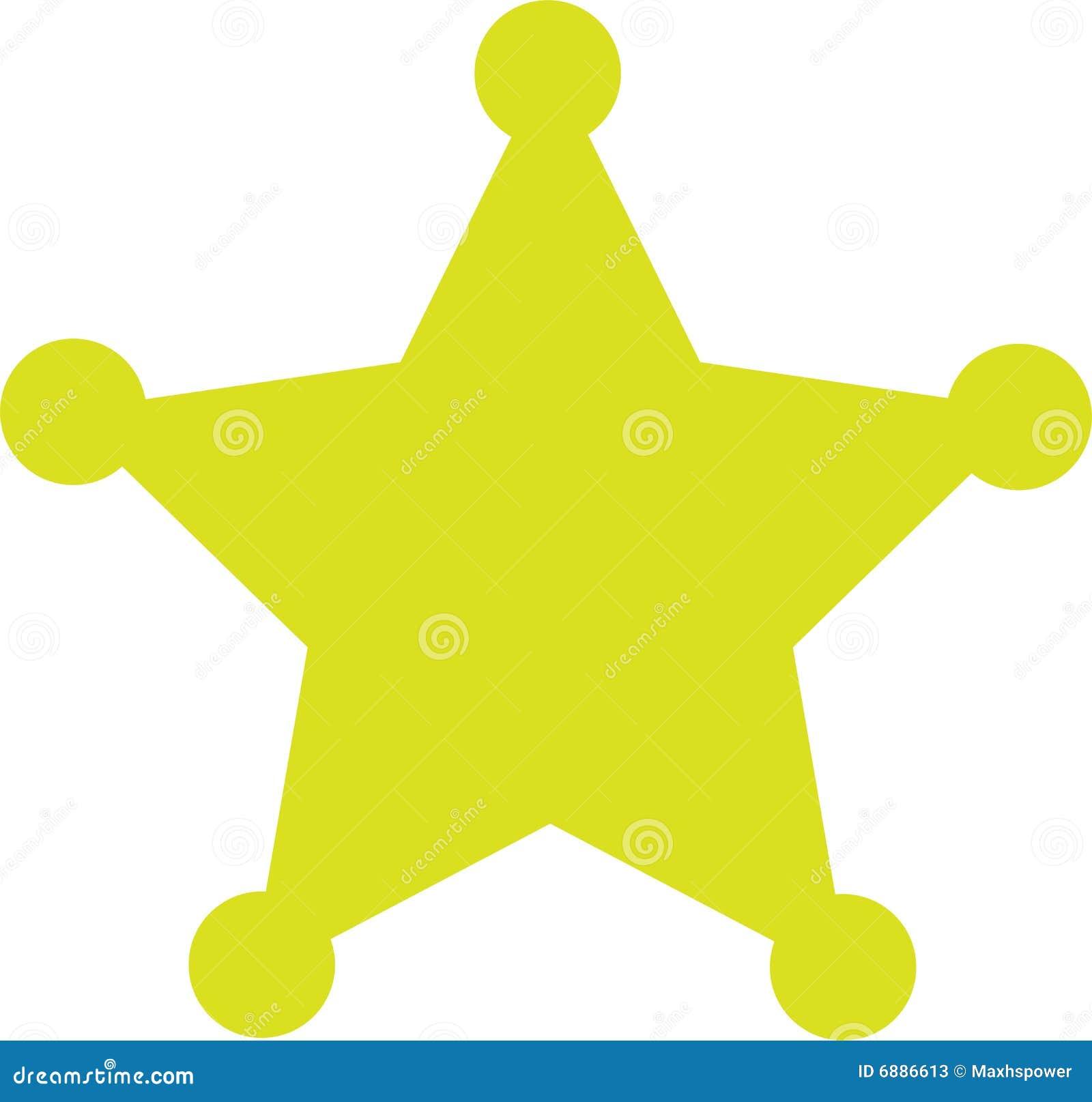Sheriff Star Sheriff star