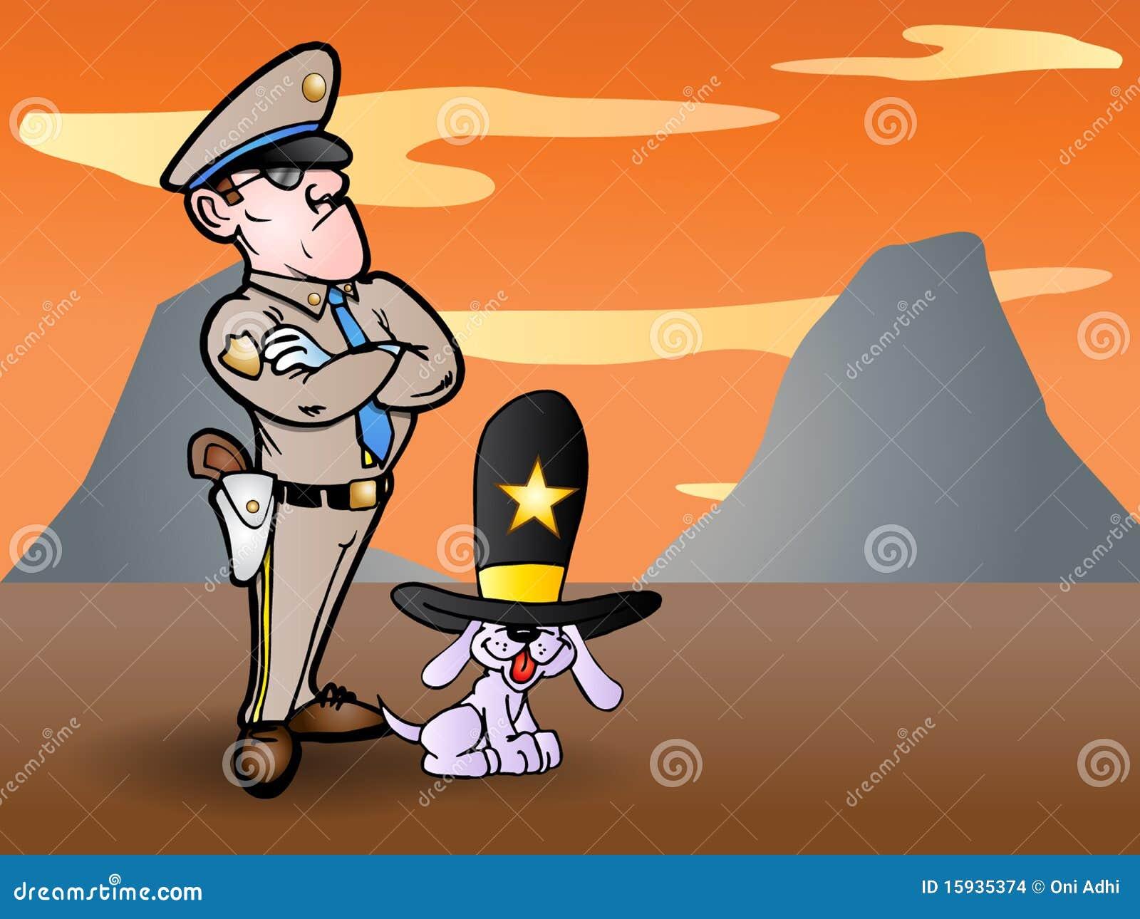 Sheriff y su perro leal