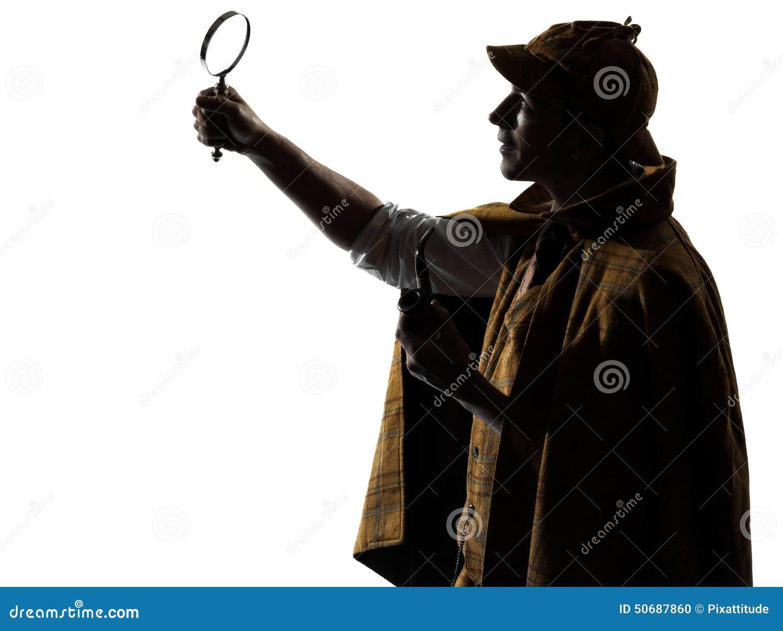Download Sherlock holmes剪影 库存照片. 图片 包括有 holmes, 扩大化, 法律, 纵向, 剪影 - 50687860