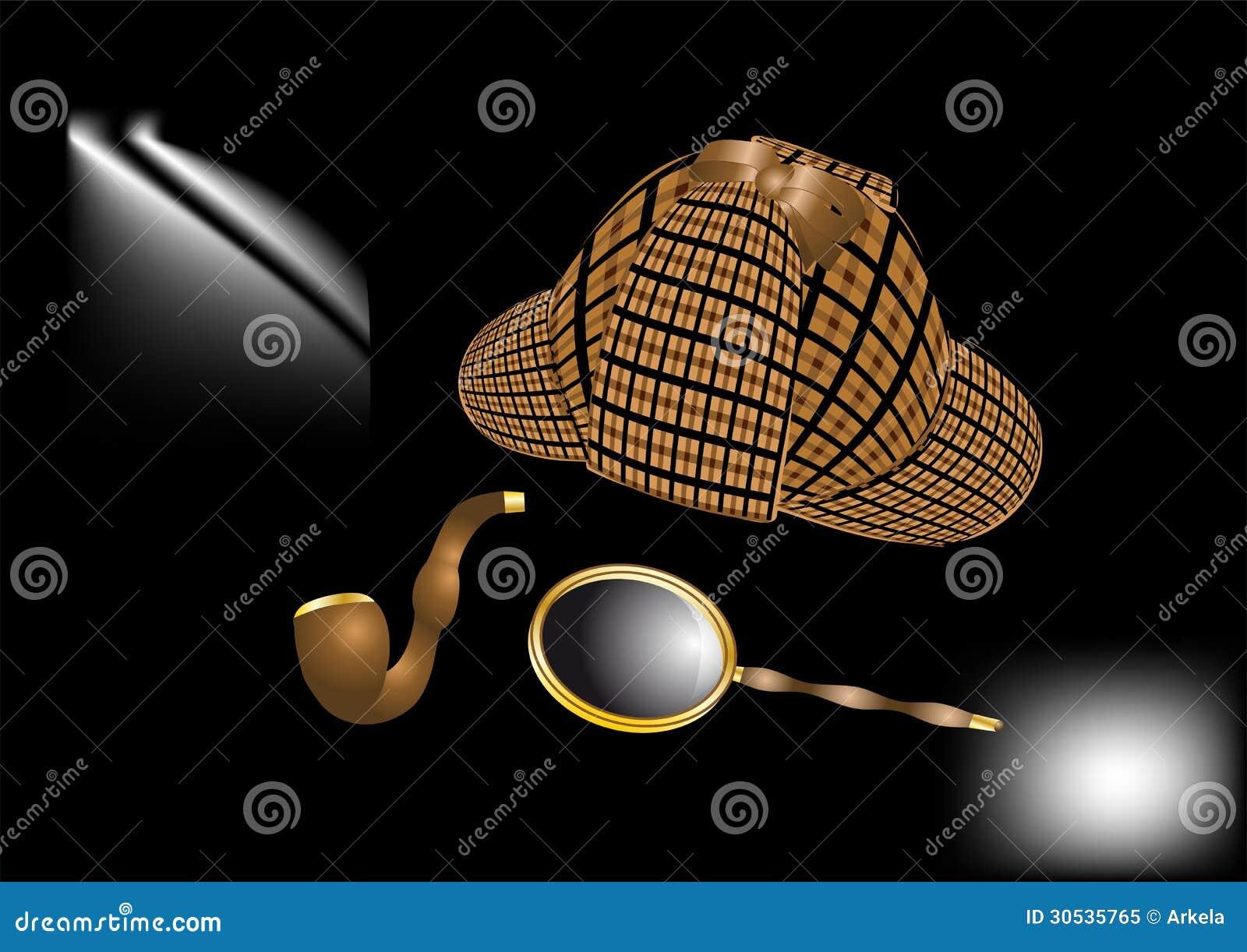 Sherlock Holmes Kit Royalty Free Stock Photo - Image: 30535765