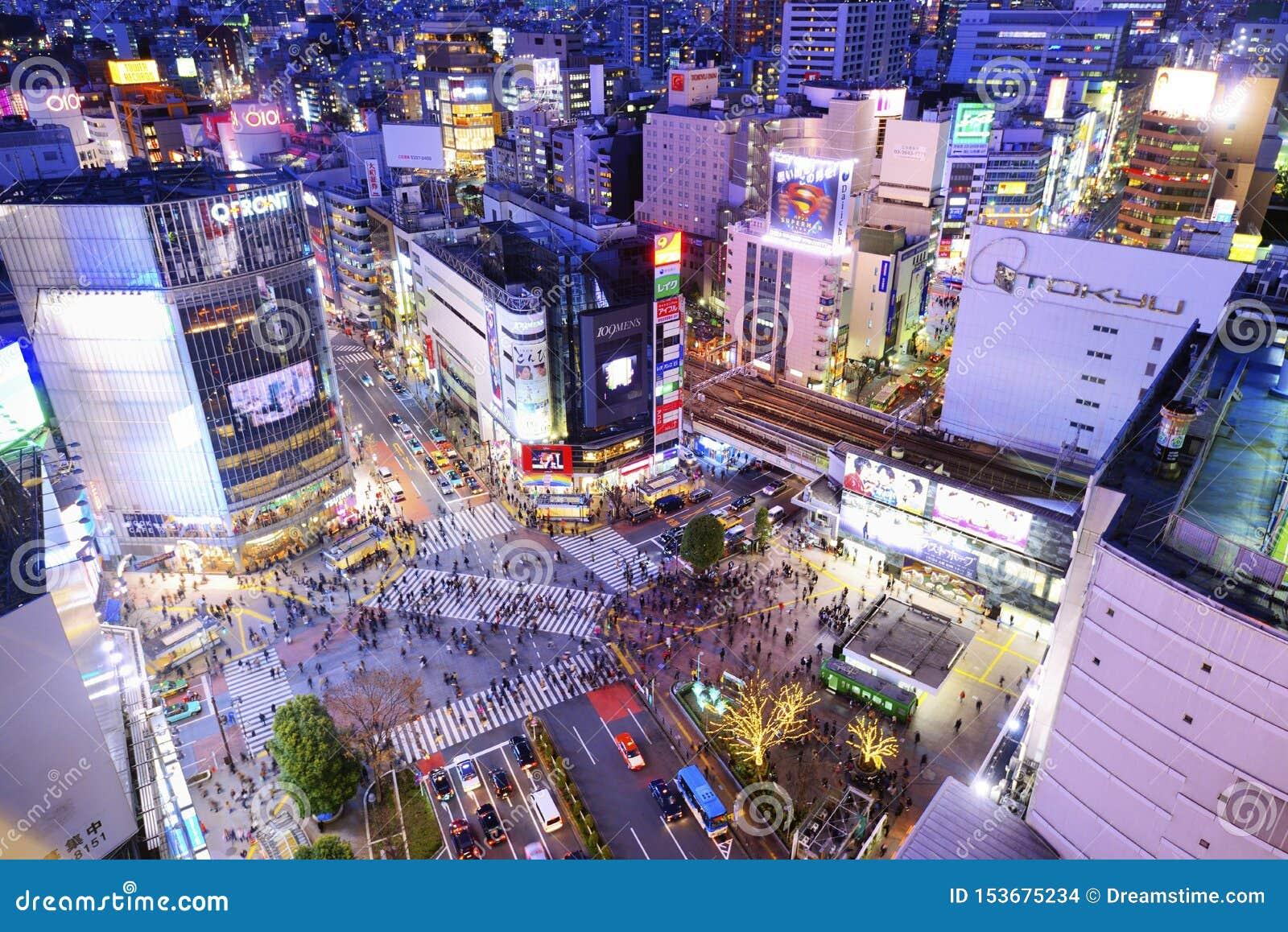 Shibuya croisant Tokyo Japon