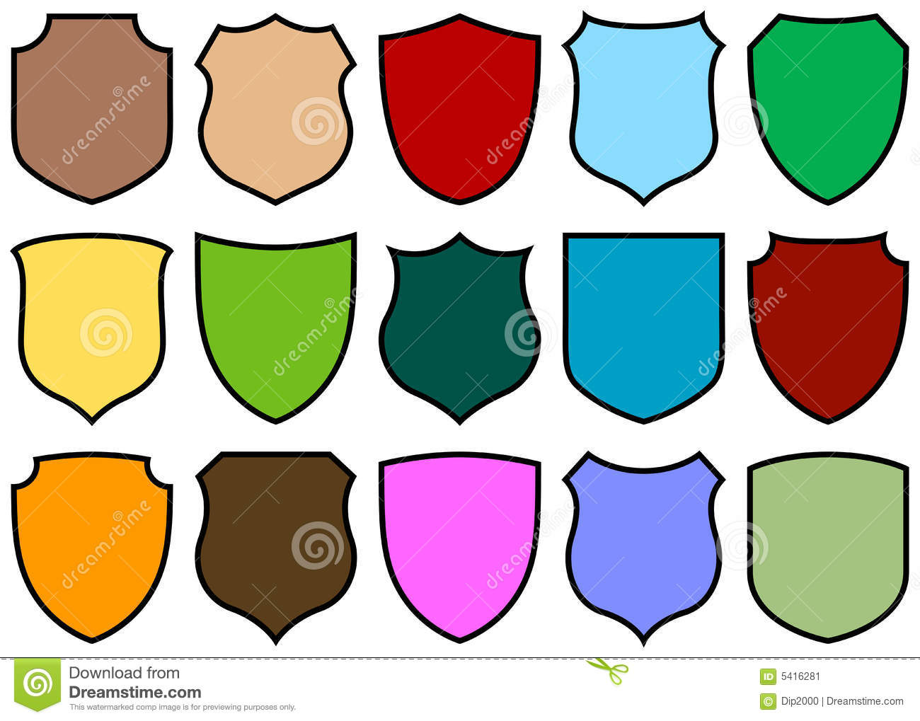 Shield design set royalty free stock photos image 5051988 - Shield Design Set Stock Image