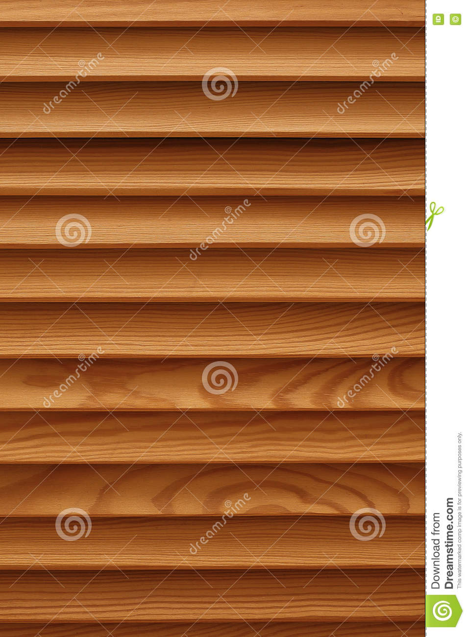 Wood Blinds Texture shield with a large number of parallel wooden logs texture. wood