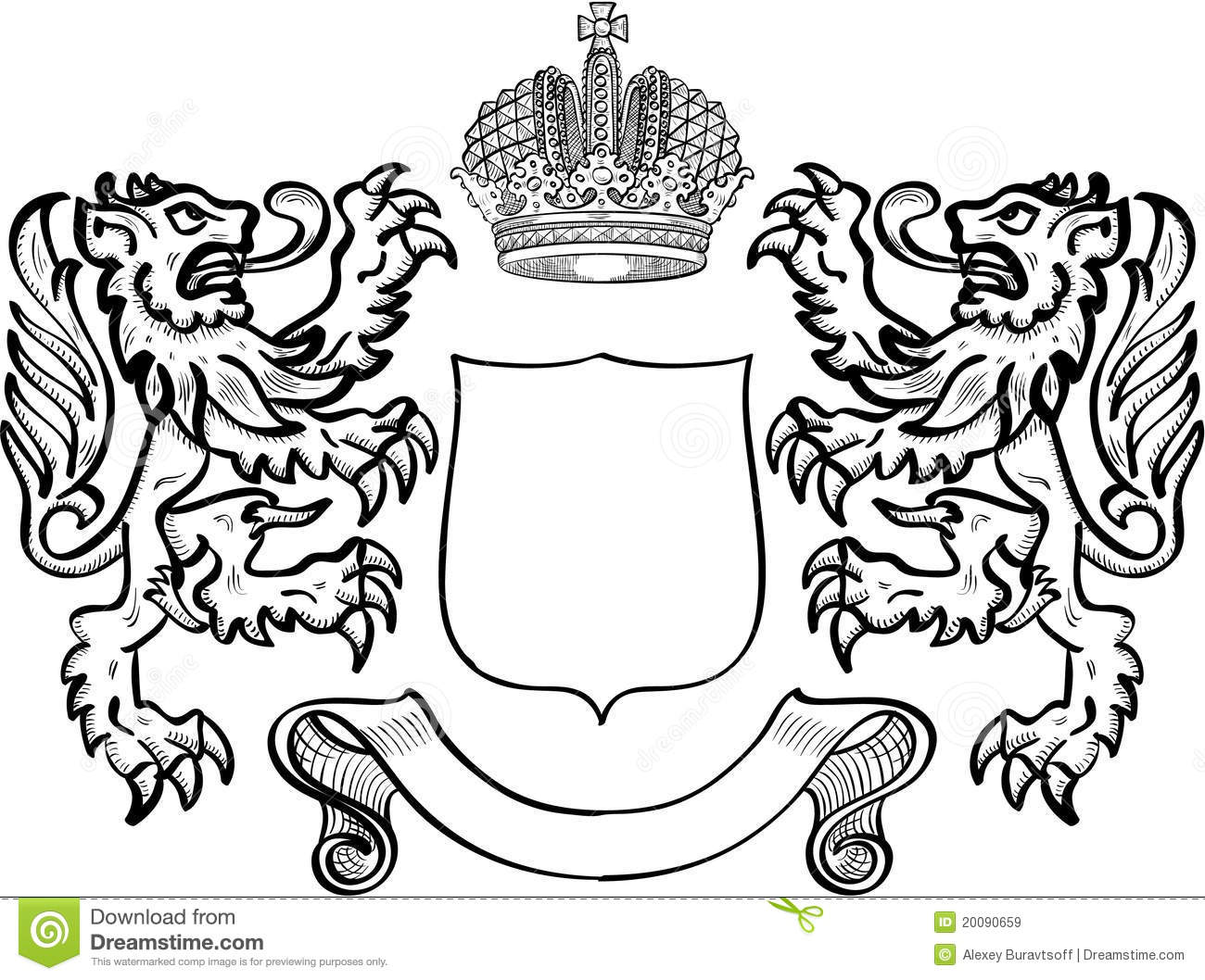 how to draw the india coat of arms