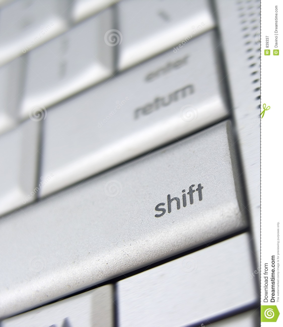 how to fix a key laptop shift key