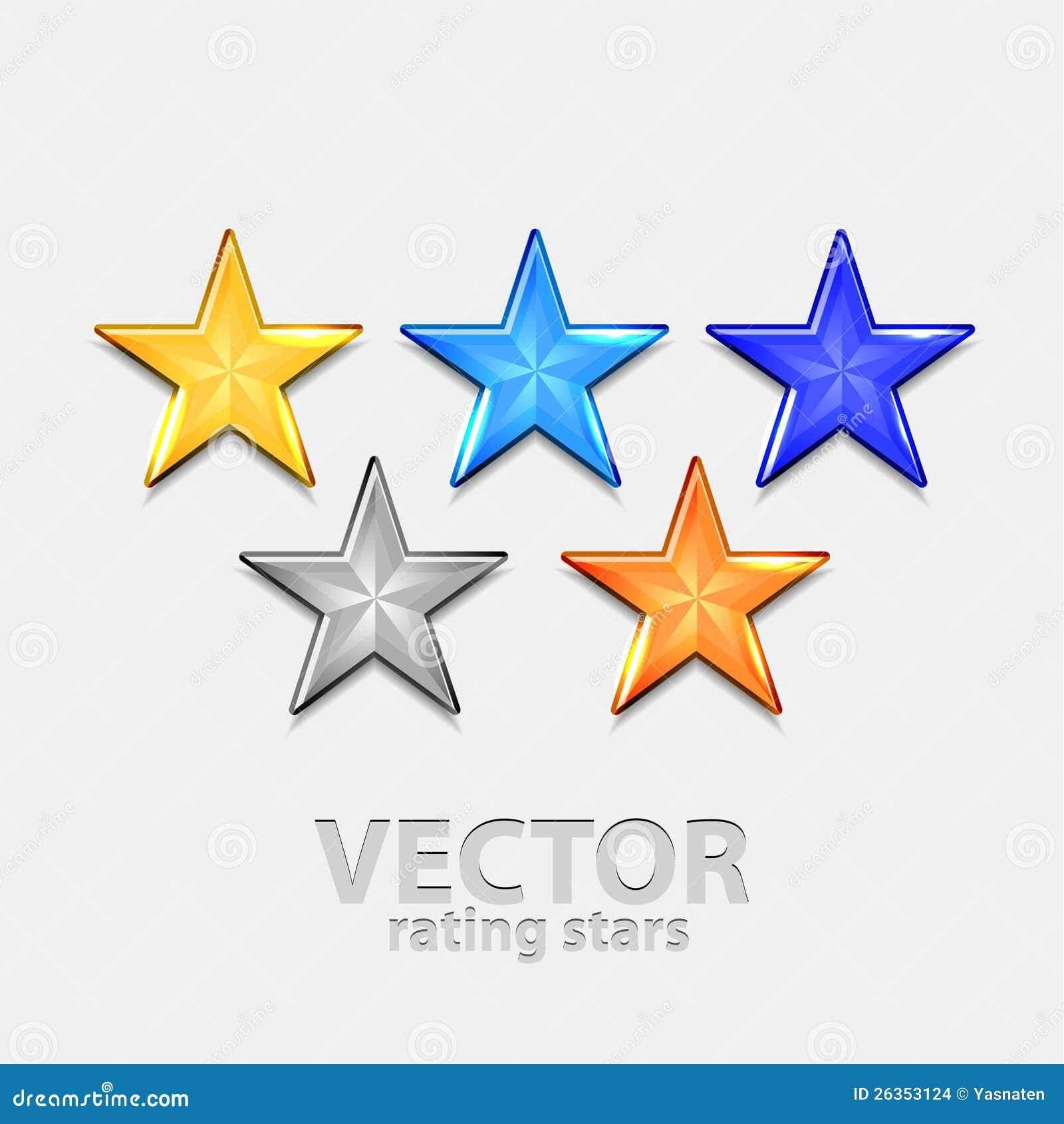 Download Shiiny Sterne stock abbildung. Illustration von abzeichen - 26353124