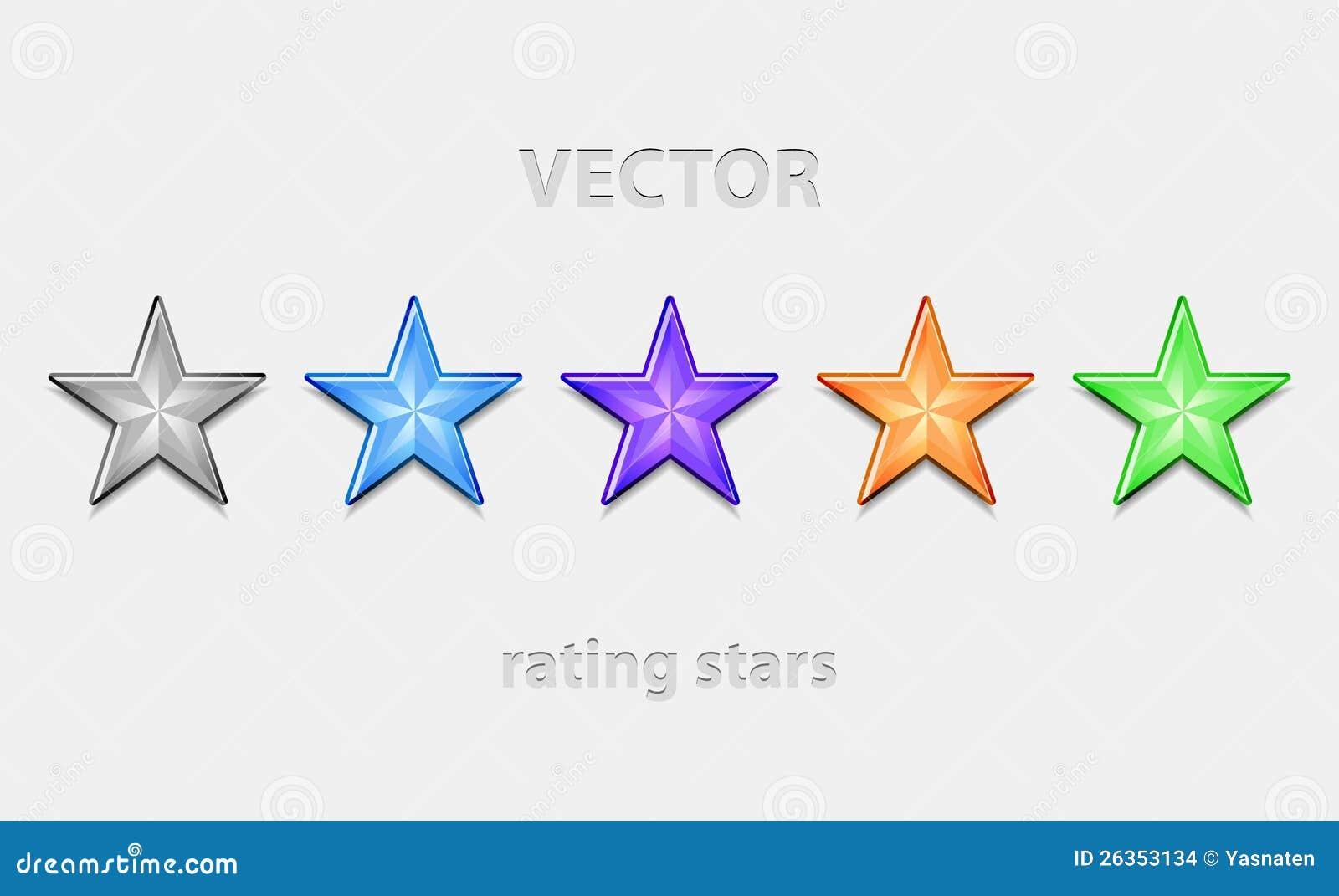 Download Shiiny Sterne stock abbildung. Illustration von stab - 26353134